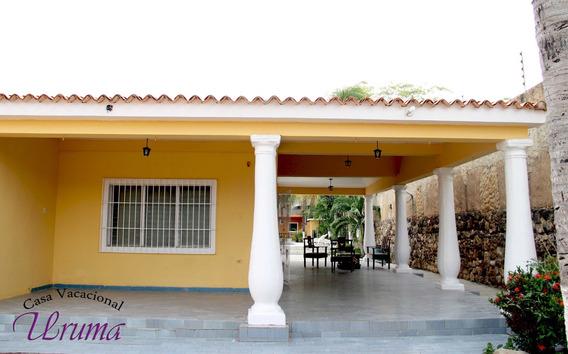 Posada, Casa Vacacional Uruma , Morrocoy Falcón