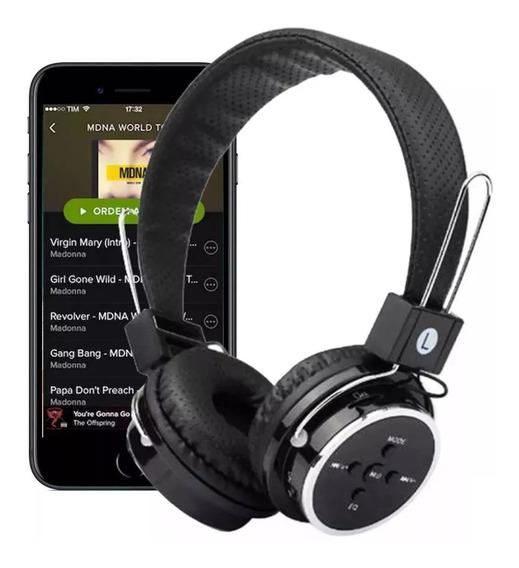 Fone De Ouvido Headfone Bluetooth Fm B05 (sem Fio)