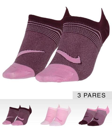 Meia Nike Invisível Kit 3 Pares Ltwt Foot Sx5277-950