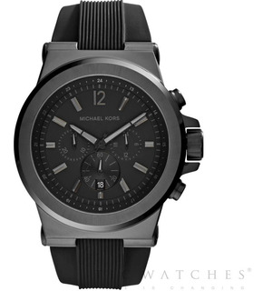 Reloj Michael Kors Hombre Mk8152 Black Agent Oficial Unitime