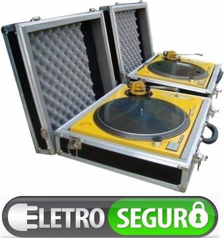 Case Maleta P/ Toca Discos Audio Technica Atlp120 & Technics