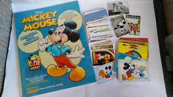 Álbum Mickey 90 Anos Figurinhas E Cards . Vendas Avulsas