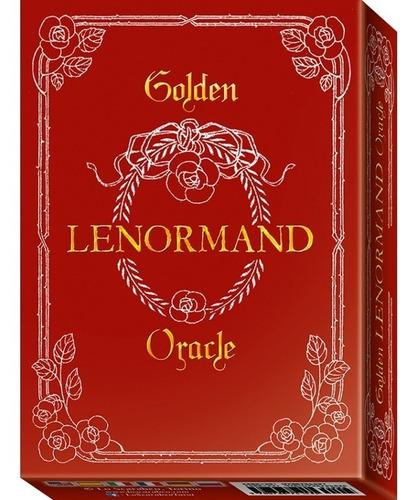 Golden Lenormand  Oracle Cards ( Oraculo )  - Lo Scarabeo