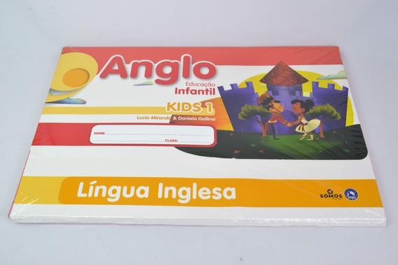 Kit Anglo Educacao Infantil Kids 1 Língua Inglesa