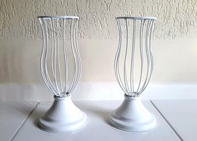 Vasos De Metal Aramados Para Decoração Da Casa E Buffet