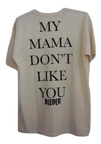 Tshirt Purpose Tour Justin Bieber My Mama Dont Like You