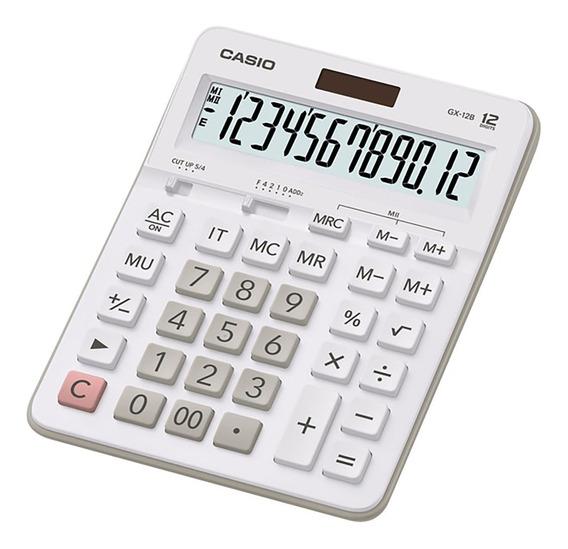 Calculadora Escritorio Casio Gx-12b Garantia Oficial 2 Años