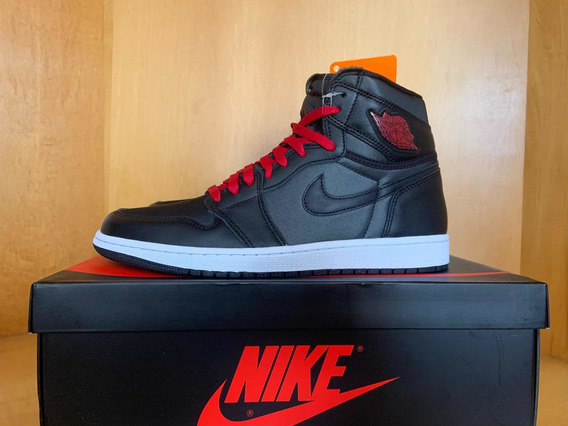 Jordan 1 High Black Satin