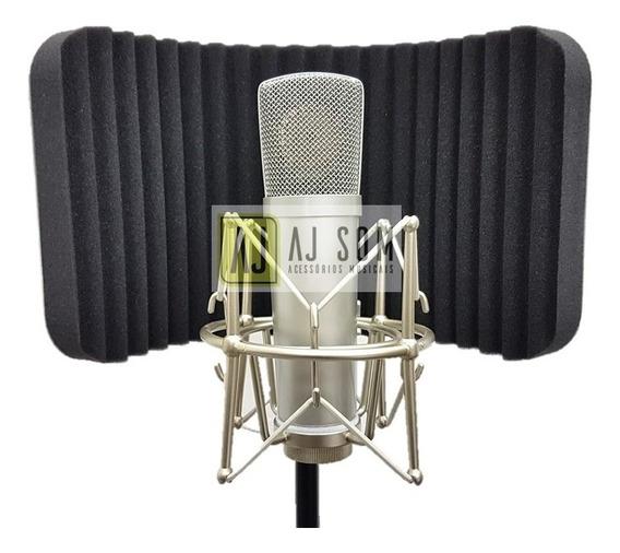 Difusor Acústico P/ Pedestal Vocal Booth Reflection Filter P