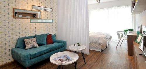 Venta Apartamento Monoambiente Pocitos Garaje Opcional Renta