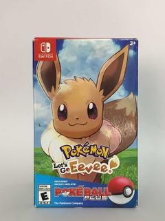 Pokemon Lets Go Eevee Pokeball Plus Bundle Switch
