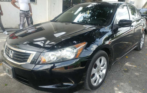 Honda Accord 2009 Ex Full 4cilindros Sunroof Piel Americano