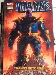 Lote Com 9 Hq Thanos Vingadores Xmen Capitão América