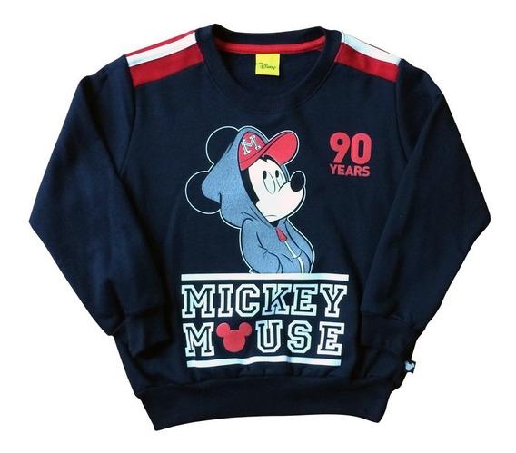 Sudadera Mickey De Disney Oficial Para Niño