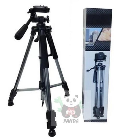 Tripé Câmera Profissional Universal 1,5 Metro Flexível Bolsa