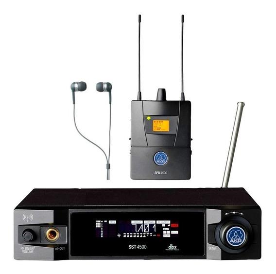 Monitor Sem Fio Akg In Ear Ivm 4500 Bdi