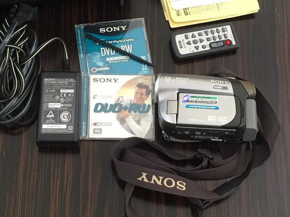 Sony Dcr-dvd203 Ntsc Handycam Camcorder-12 X Zoom Óptico Câm