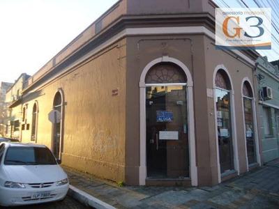 Loja Comercial Para Locação, Centro, Pelotas. - Lo0133