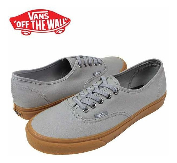 Zapatillas Vans Authentic Frost Gray Gum 100% Originales