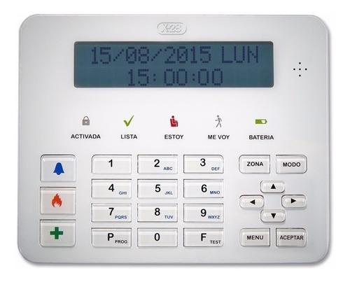 Teclado Full Alarma X-28 Tlcd-mpxh Display Lcd Mjes Hablados