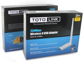 Antena Wifi Toto Link N150ua, Doble Banda,150mbps,