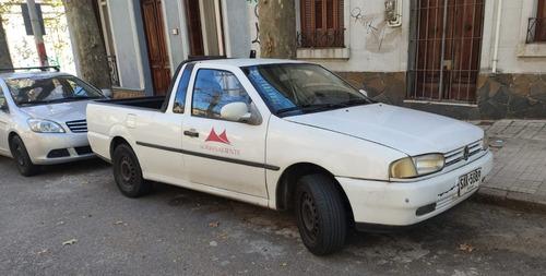 Pickup Vw Saveiro - 1999 - Unico Dueño - C/motor A Nuevo