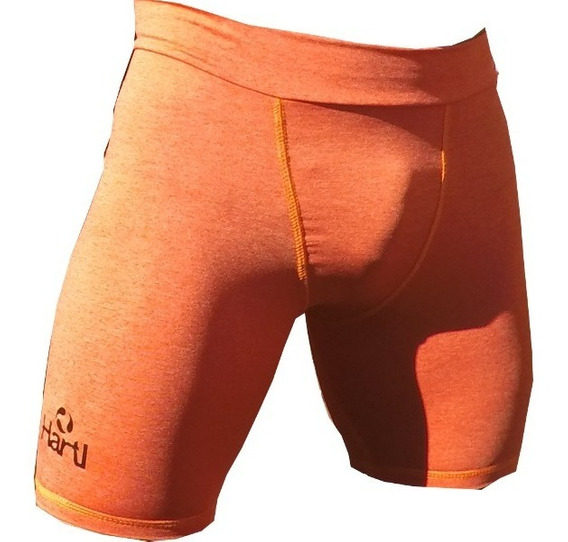 Id231 Boxer Calza Hartl Strech Casual Deportivo Naranja