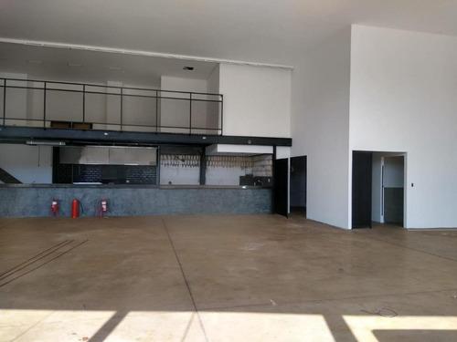 Salão Para Alugar, 400 M² Por R$ 12.000,00/mês - Santa Cruz Do José Jacques - Ribeirão Preto/sp - Sl0284