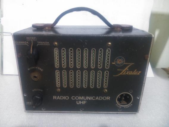 Antigo Radio Comunicador Uhf Fixoluz Anos 40/50