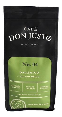Imagen 1 de 4 de Café Don Justo Orgánico Molido Medio.