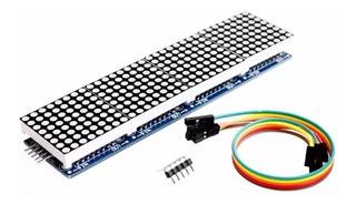 Modulo Display Matriz De Led 8x32 Com Chip Max7219 Arduino