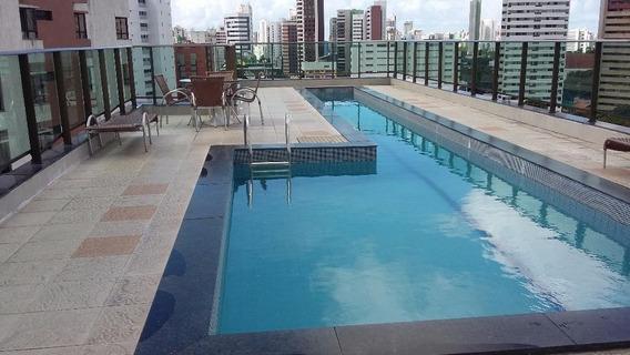 Apartamento Em Jaqueira, Recife/pe De 31m² 1 Quartos Para Locação R$ 1.160,00/mes - Ap397421