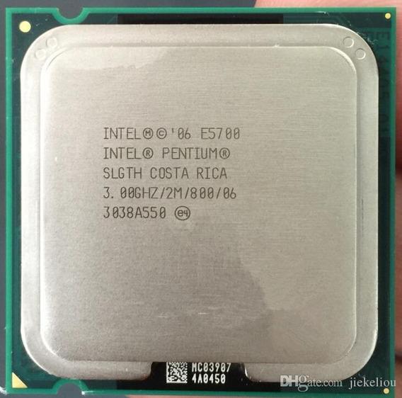 Processador Intel Dual Core E5700 3.0gb/2mb/800 + Cooler