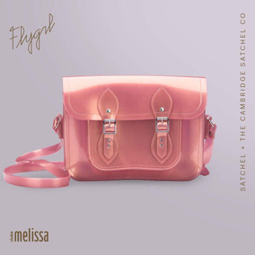 Bolsa Melissa +the Cambridge Satchel - Rosa Holográfica