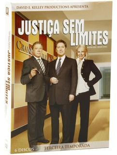 Justiça Sem Limites 3ª Temporada - Box Com 6 Dvds - Novo