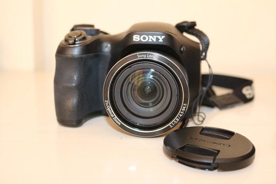 Câmera Digital Sony Dsc-h100 - Usada