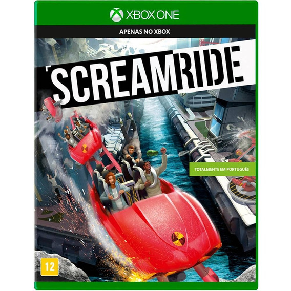 Screamride Xbox One Mídia Física