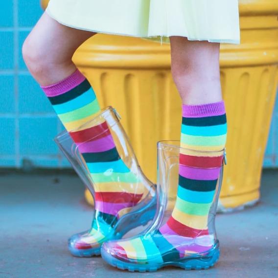 Galocha +meias Promoção Pronta Entrega