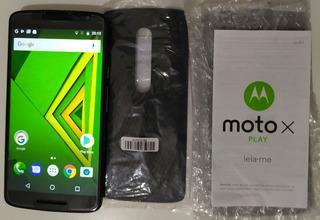 Motorola X Play -32 Gigas (fuciona E Leia Todo Anuncio!)