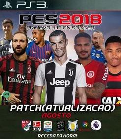 Patch Pes 2018 - Agosto, Cr7 Na Juventus