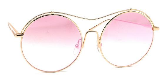 Óculos De Sol Calvin Klein Ck2161s Dourado