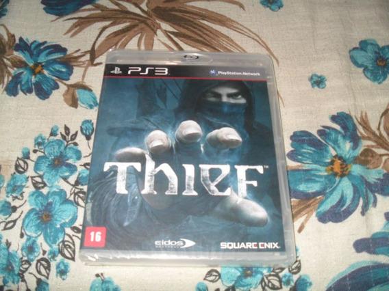 Jogo Thief Playstation 3 Ps3 Mídia Física Novo (lacrado)