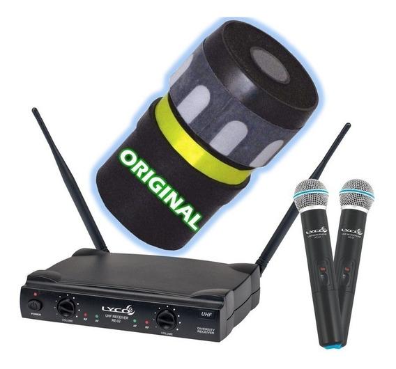 Cápsula P/ Microfone Lyco Sem Fio Uh 02mm - Reparo Original!