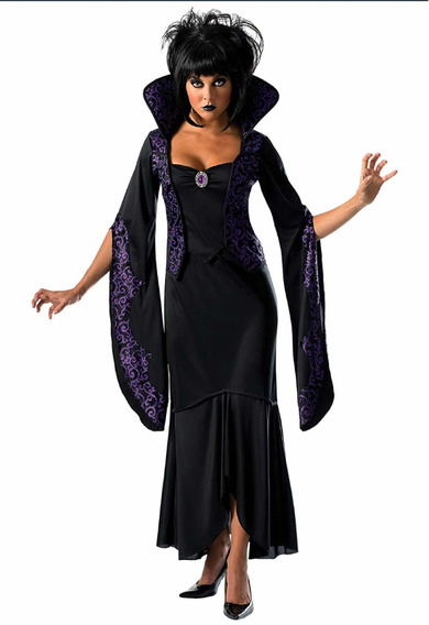 Disfraz Sexy Halloween Mujer Vampiresa Halloween