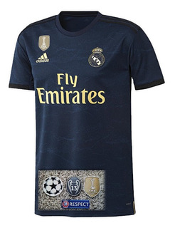 Camisa Do Real Madrid 2019/2020 Champions - Pronta Entrega + Video