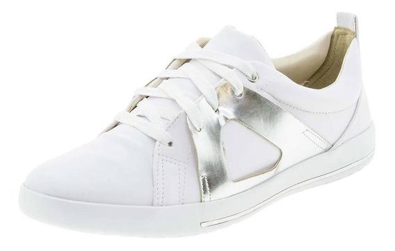 Tênis Feminino Prata/branco Comfortflex - 1759304