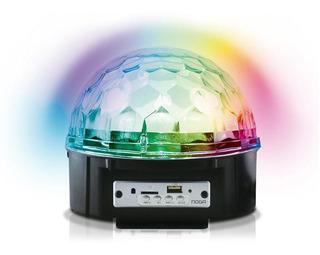 Parlante Inalámbrico Bt Sphere Leds Colors Noga A 2010