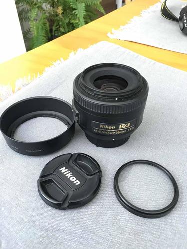 Lente Nikon 35mm Af-s 1.8g