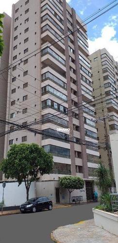 Apartamento Com 3 Dormitórios À Venda, 118,59 M² - Jardim Paulista - Ribeirão Preto/sp - Ap3572
