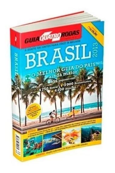 Guia Turístico 4 Rodas Brasil 2013 + Mapão Brasil 2013